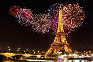 Año nuevo en Paris Q21,000