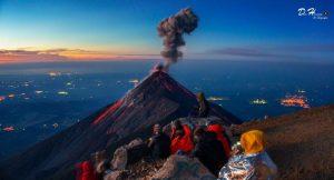 Volcán Acatenango Ascenso nocturno Q299 Octubre