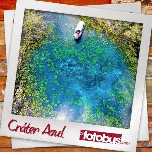 Cráter Azul y Tikal Q899